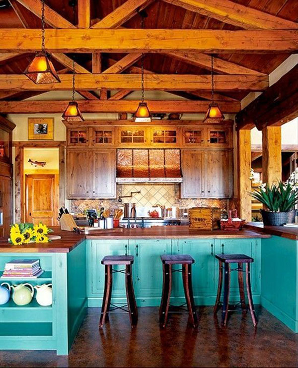 Charming Rustic Kitchen Ideas And Inspirations: Charming Rustic Kitchen Design